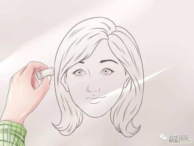 动漫图画黑白手绘