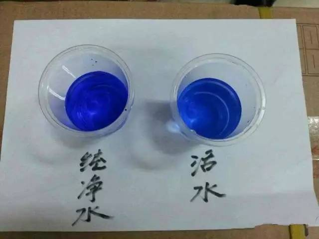 无限极净水器的两个神奇实验 用活水来说话图片