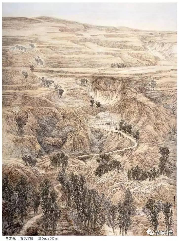【丹青画集】全国第三届工笔山水画展作品集(微平台版图片