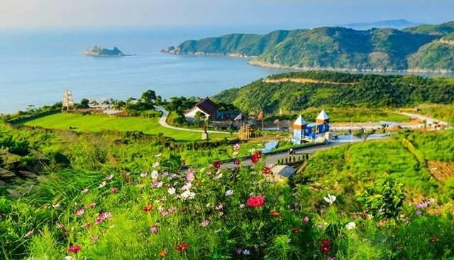 这里是苍南最美的海湾,目前拥有苍南最大的露营基地、苍南最佳的日高清图片