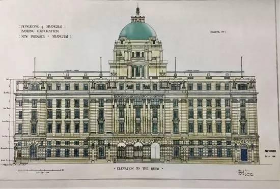 当年著名建筑师的大量智慧与心血 上海总会,大北电报公司大楼,汇丰