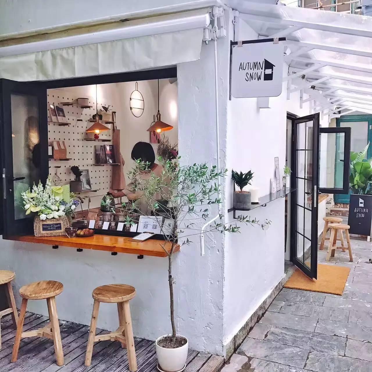 有一种餐饮空间设计叫做小清新