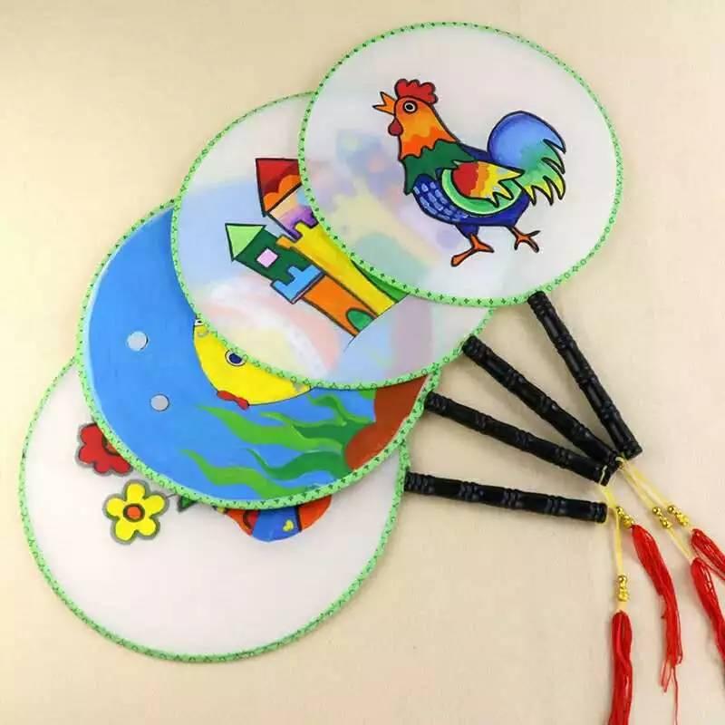 活动预告|儿童夏天手工专场:扇子制作