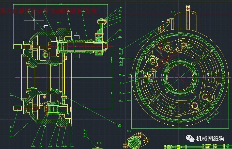 【工程机械】机械设计毕业设计参考大全200多套 cad图纸 说明书等