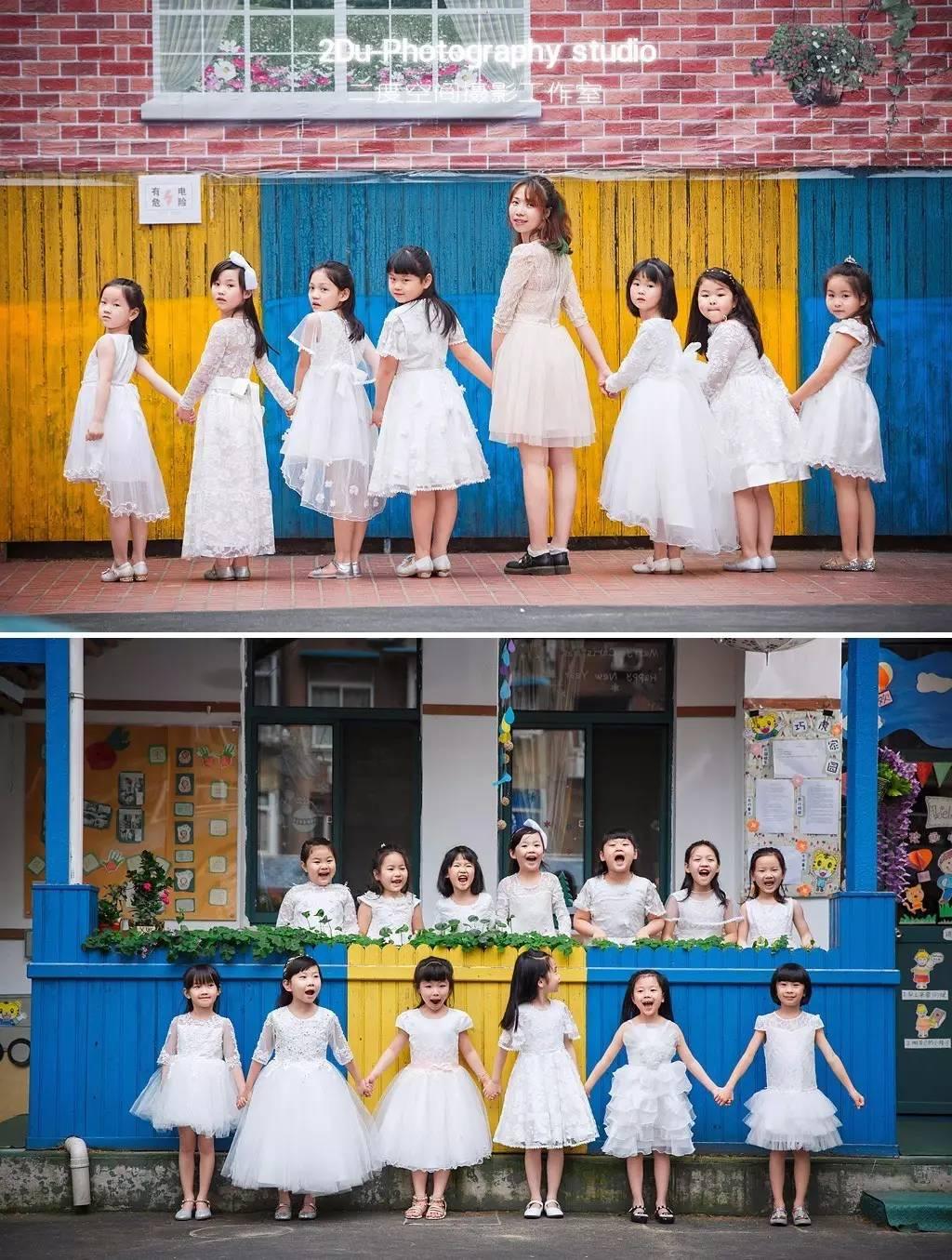 最近一组幼儿园毕业照拍摄,             儿园毕业照最近陆续图片