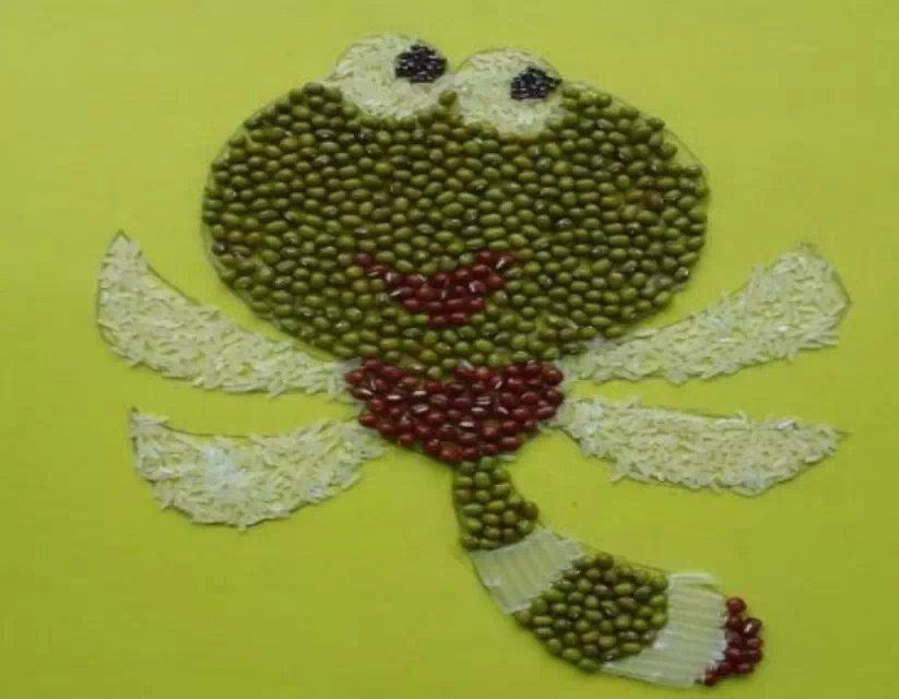 种子贴画_种子贴画,简单,实用,让小朋友做起来吧!