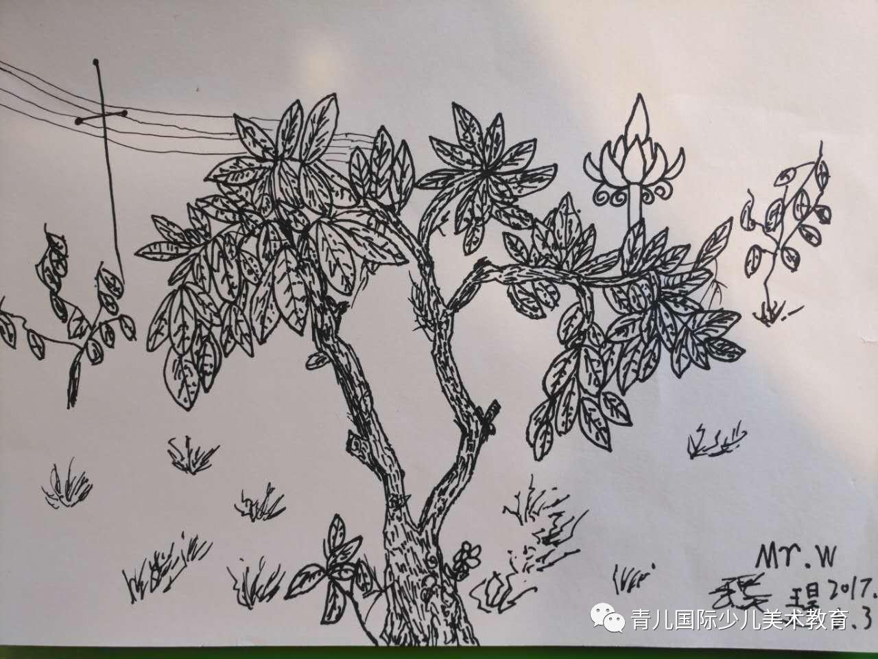 国画 简笔画 手绘 线稿 1280_960