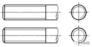 cad里面的直径符号和螺纹符号怎么标注_标注尺寸时cad中螺纹孔深度 那个符号怎么标注出来?-