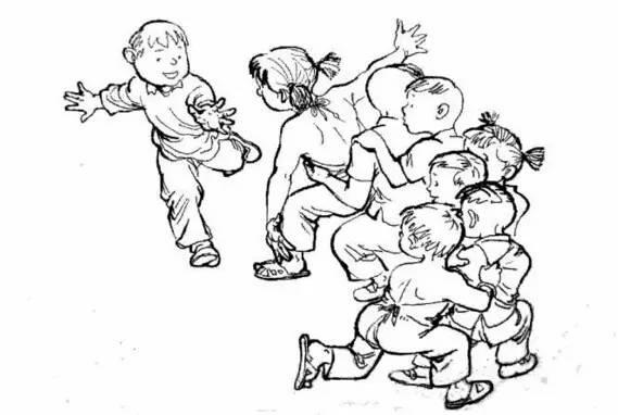 辉县民间古老游戏你会几种?(一)图片