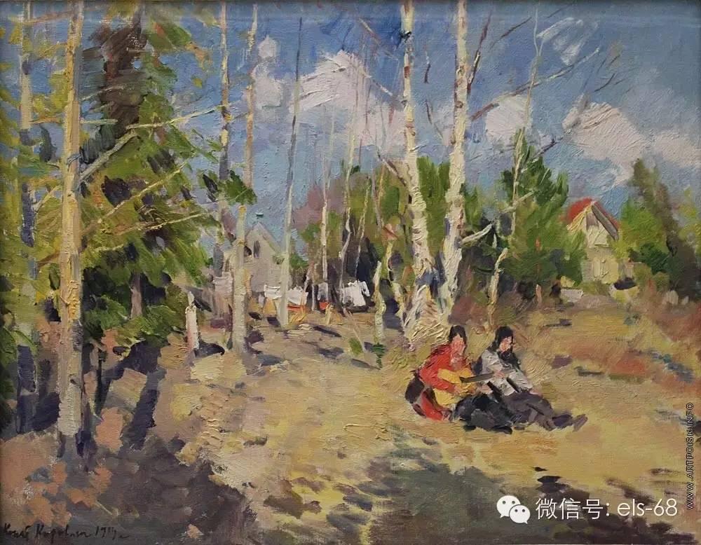 【艺术】俄罗斯印象派画家科罗温的油画作品图片