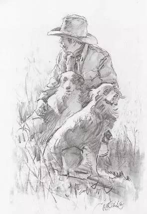 素描大师 | 美国艺术家r.s.riggic素描