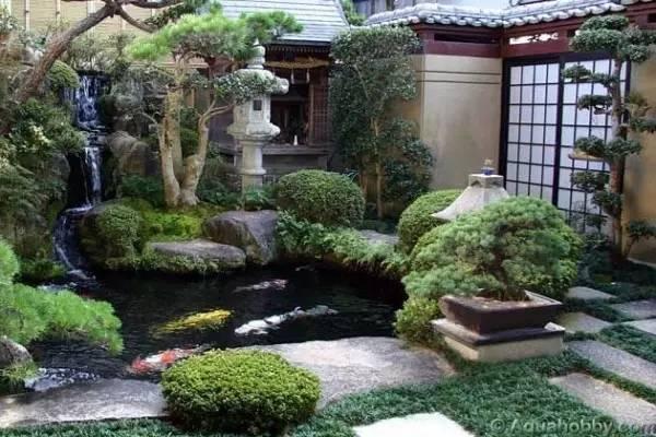 日式庭院设计必须了解的6大元素!