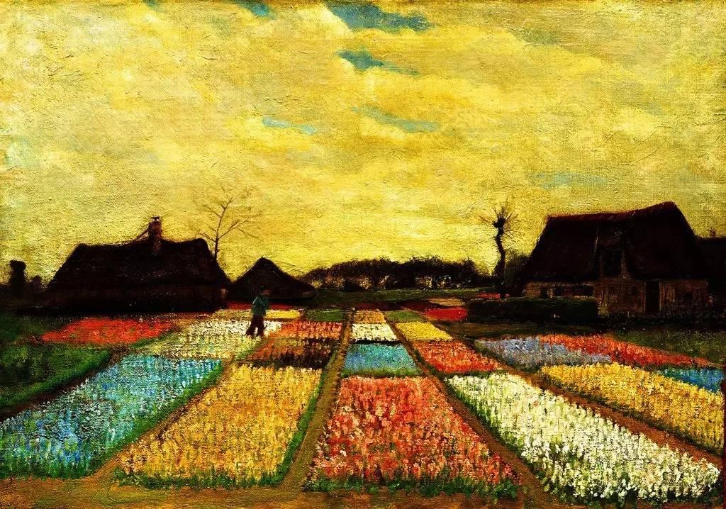 文化 正文  《梵高的麦田》 《梵高的麦田》是画家梵高创作于1889年9