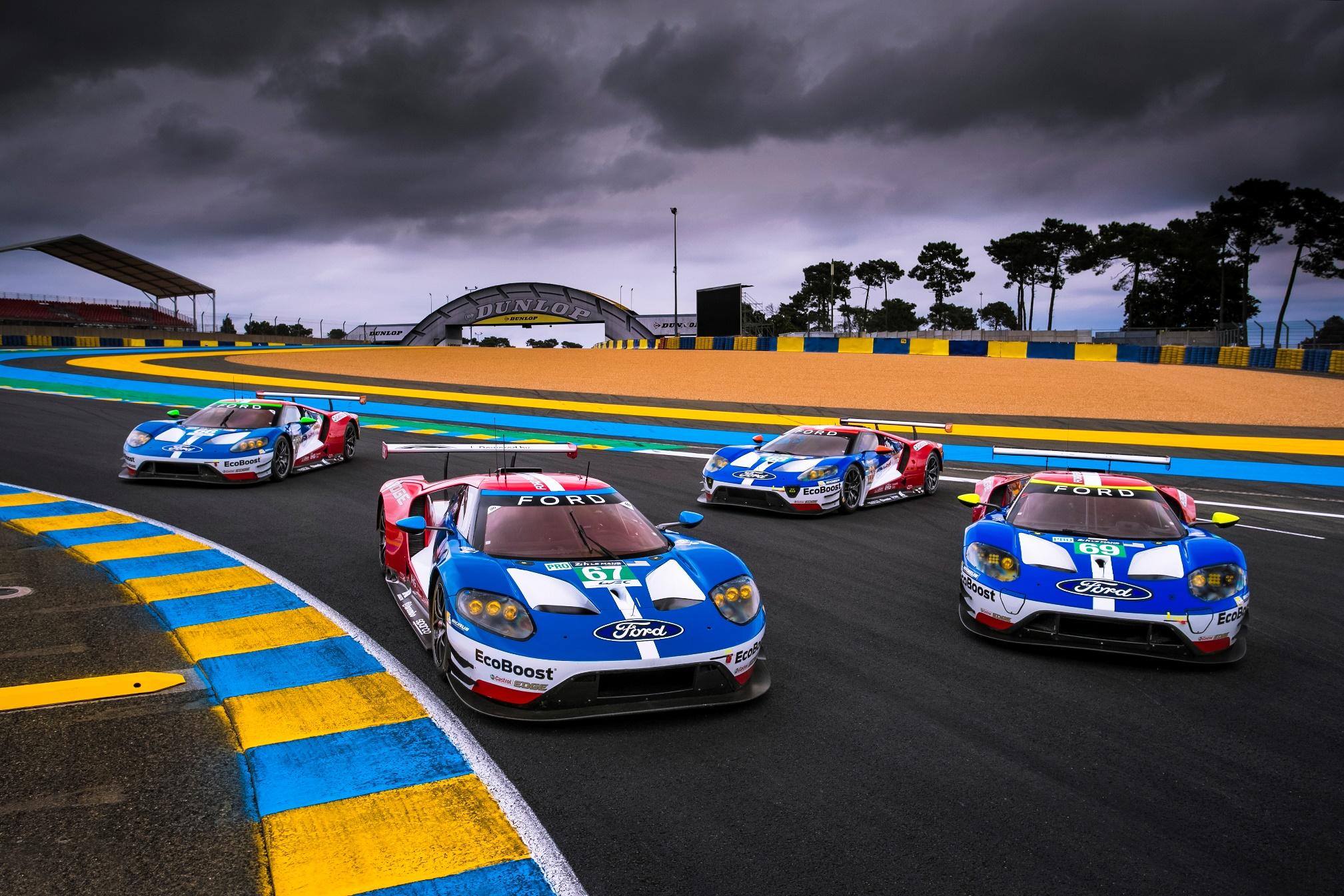 ��.�T_福特gt赛车即将开启2017勒芒24小时耐力赛卫冕征程