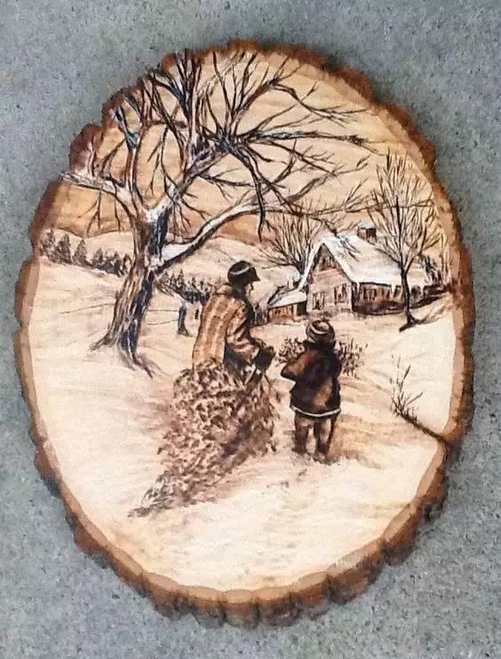 再加上自己的创造力 你就可以制作出能够留存许久的木质工艺品图片