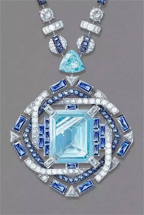 邵萍老师的《珠宝首饰设计手绘技法》里有具体的画法,可以参考.