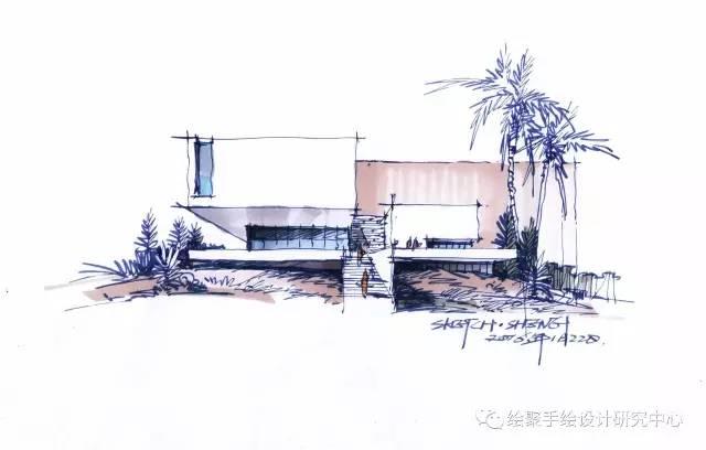 建筑师画手绘图到底是为了什么?浅谈建筑草图练习方法