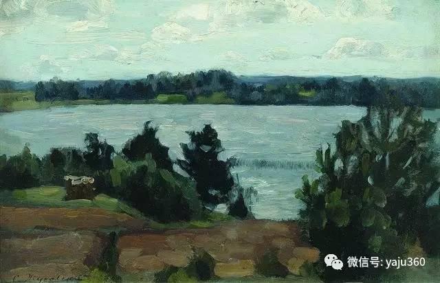 波兰斯坦尼斯风景油画欣赏