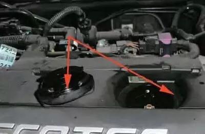英朗曲轴位置传感器电路图