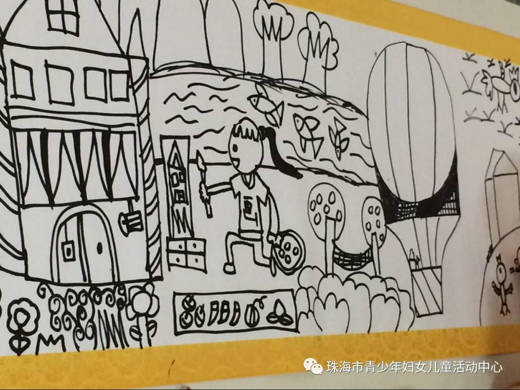 """""""我的中国梦 阳光伴我行""""珠海中山两地孩子现场主题绘画活动圆满结束"""