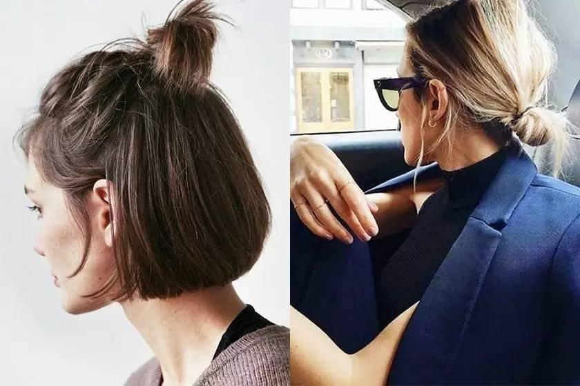 时尚 正文  短发扎法 头发想要快快长                   还有几个