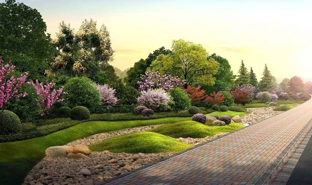 浅谈城市园林规划的景观设计