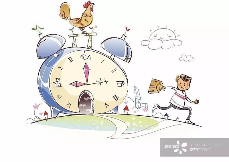 体现上班族一天的工作作息,和时间赛跑,贴合特定消费群体的心理,从而