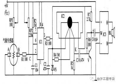 555定时电路构成单稳态电路仿真