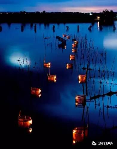 旅游 正文  京族特色捕鱼方式-虾灯 3,巫头村万鹤山