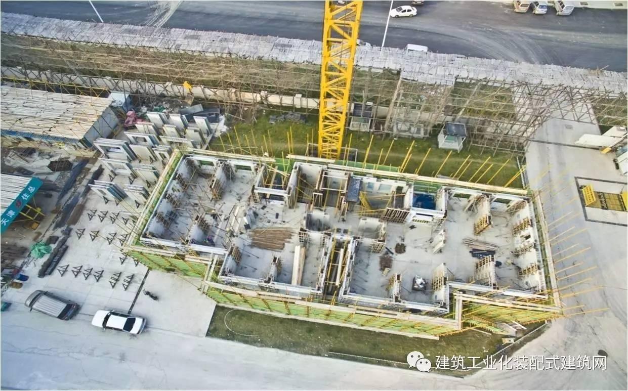 天津双青新家园1号地 荣畅园 装配式建筑实践 最高预制装配率78