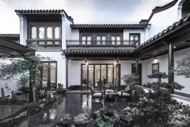 经典 绿城八大中式别墅湖华标峰景别墅御图片
