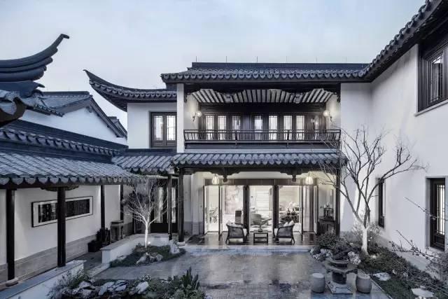 经典| 绿城八大中式别墅图片