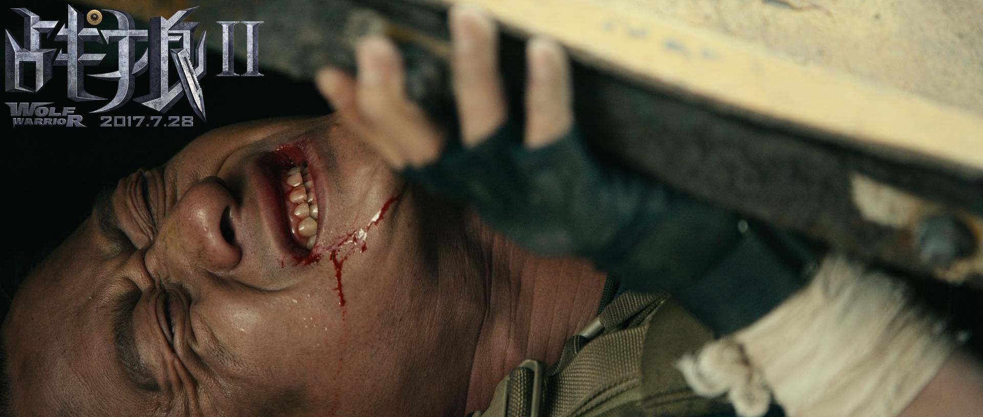 《战狼2》曝非洲行动预告 吴京吴刚热血营救同胞