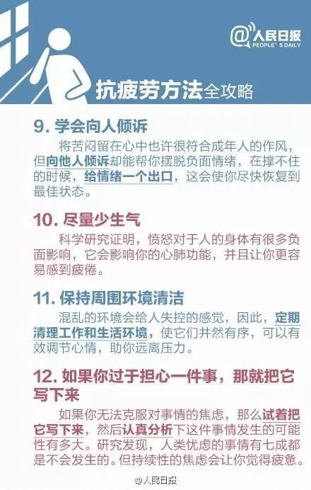 """人民日报:从疲劳到癌症只需要四步 & 新华社:""""5+2、白加黑""""不值得宣扬"""