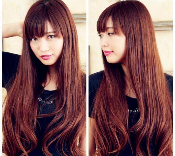 长发蛋卷都别有一番味道,小女人味十足,换上这款发型秒变韩剧女主角的图片