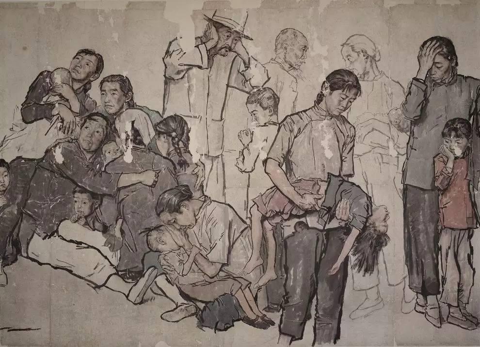 头条 中国画坛独领风骚的艺术巨匠 蒋兆和