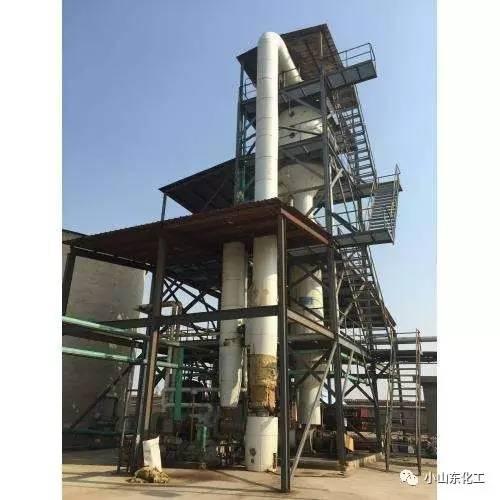 三效蒸发器组成及原理等,以及应用于高含盐废水处理实例