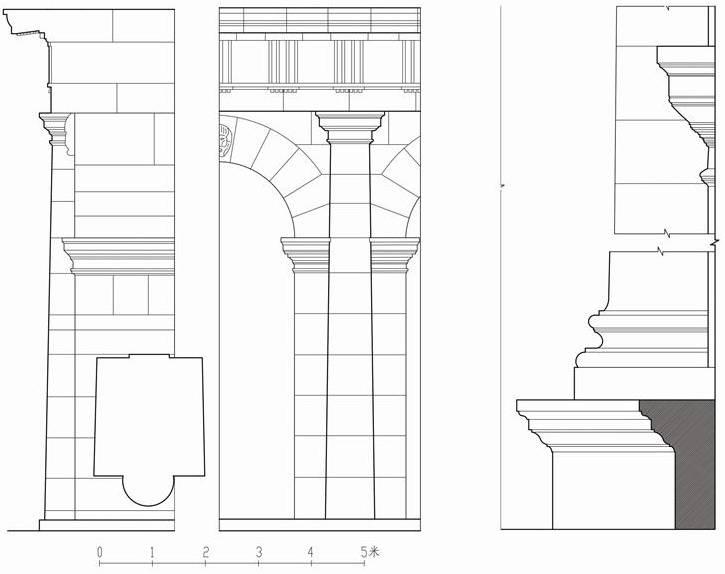 图18古罗马多立克柱式
