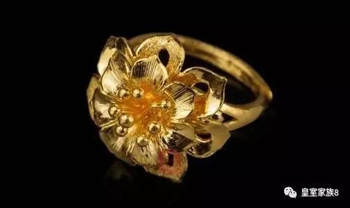 金丝编织珍珠戒指