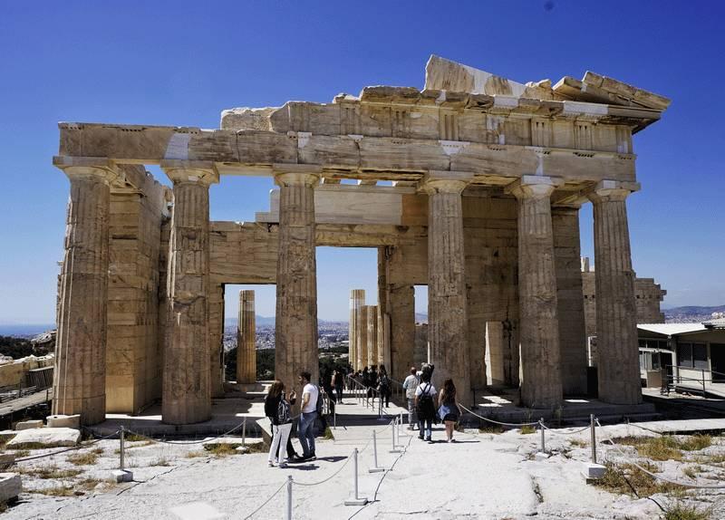 图4古希腊多立克柱式收分图片