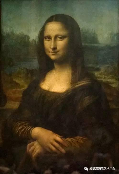 【西方绘画】达· 芬奇《蒙娜丽莎》图片