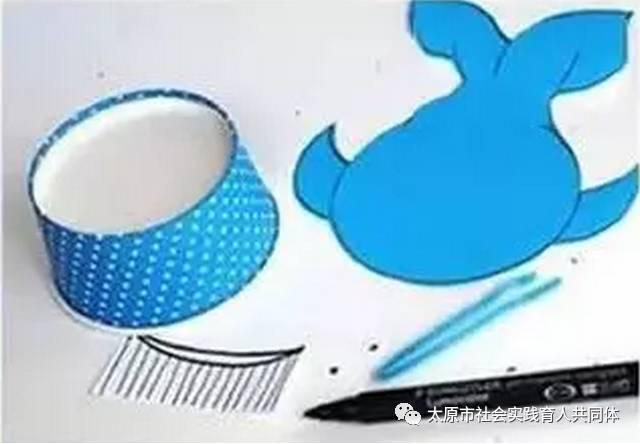 鲸鱼简笔画彩色步骤