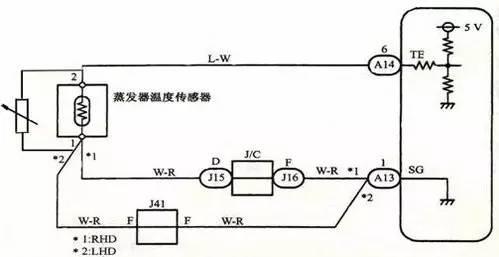 空调电阻电路图