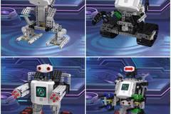 不管买过多少乐高,孩子一定还缺一套这样可拼搭能编程的机器人 来自氪机器人的编程启蒙