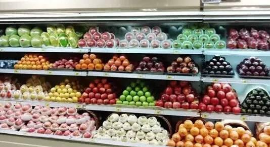 超级干货:图解生鲜超市水果陈列技巧!_搜狐科技_搜狐网图片