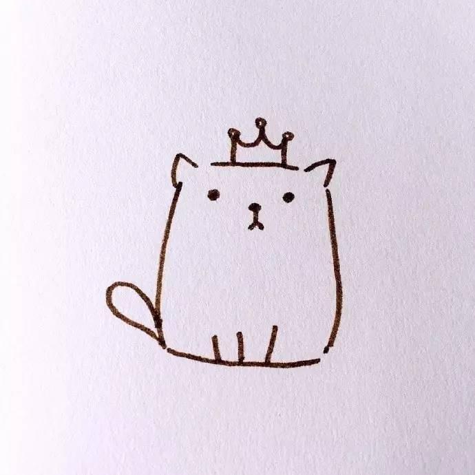 简笔画教程 | 夏日风和生日主题的手账简笔画,喜欢吗?(夏七酱)
