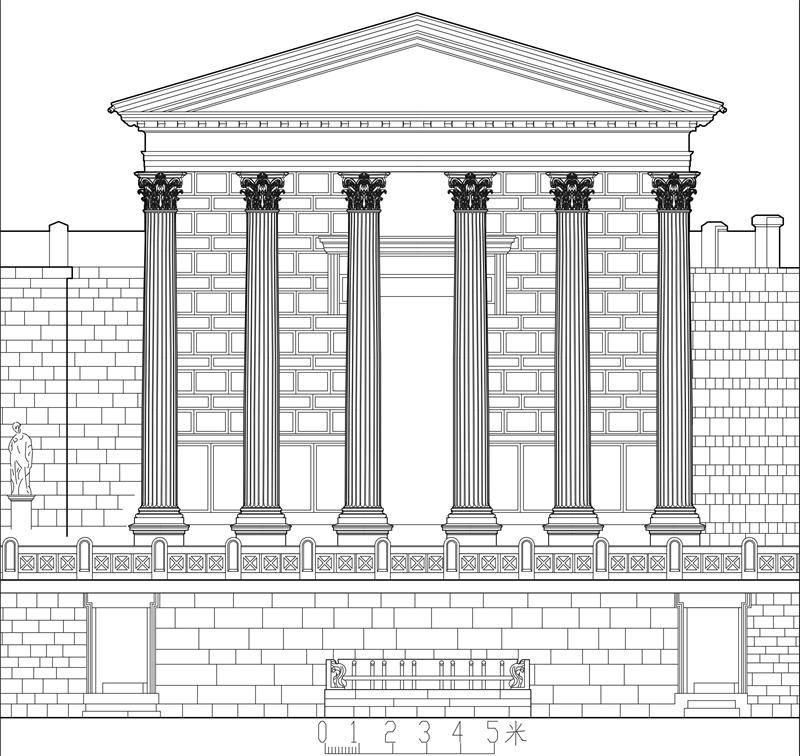 图21古罗马科林新柱式图片