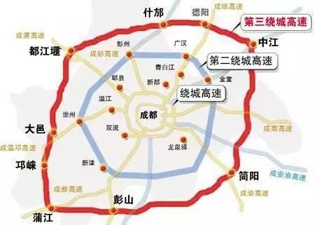 定了 四川五大经济区交通大动作 广元有,你家乡有没