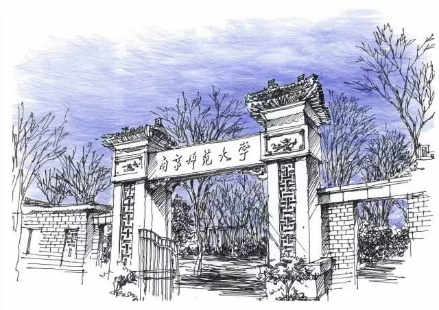【美图】各大地学院校手绘图,简直美出了天际!