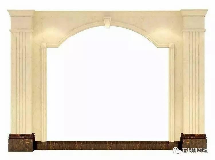 欧式大理石背景墙,少不了这些罗马柱